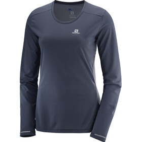 Salomon Agile LS Tee Women Graphite